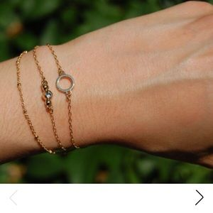 Delicate 3 piece bracelet set ✨